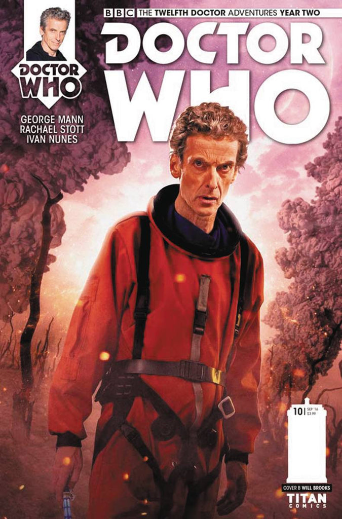 DOCTOR WHO 12TH YEAR TWO #10 CVR B PHOTO COVER