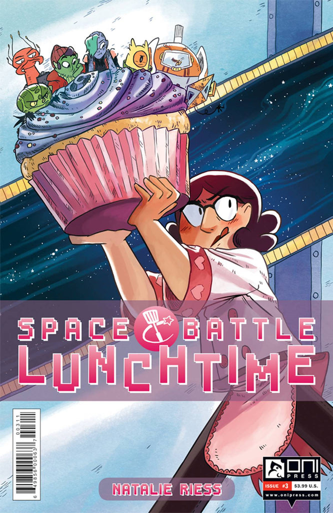 SPACE BATTLE LUNCHTIME #3 (OF 8) COVER