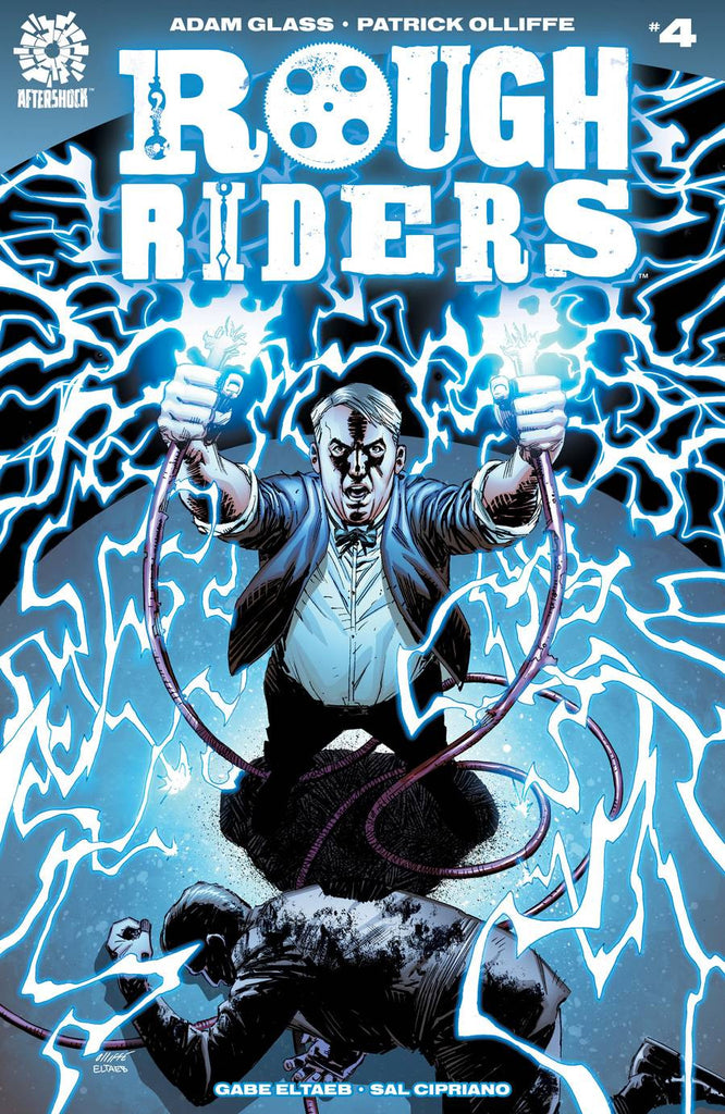 ROUGH RIDERS #4 COVER