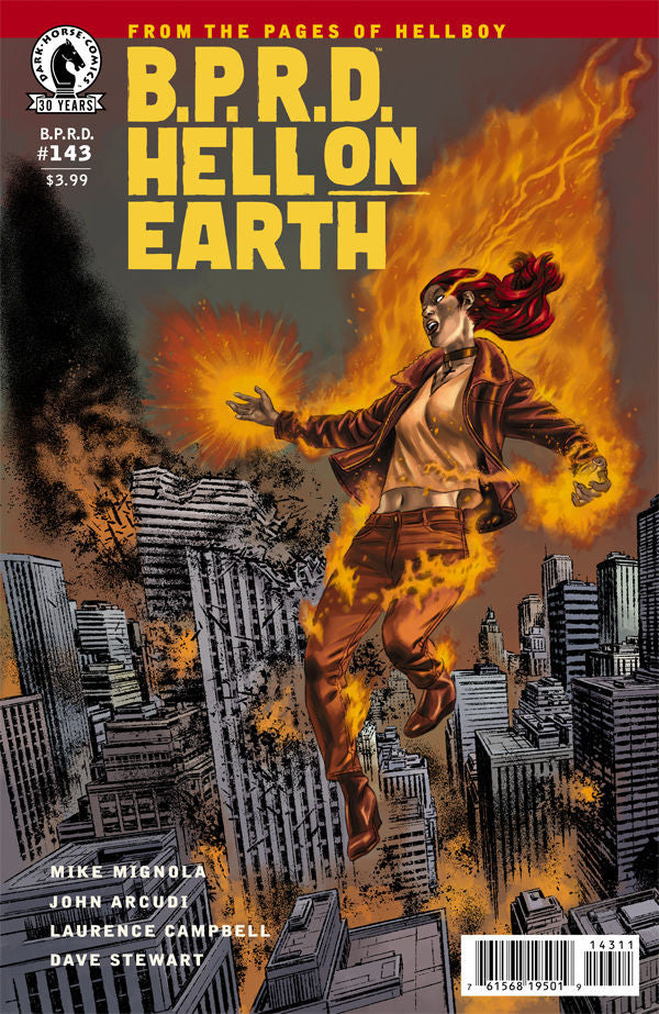 BPRD HELL ON EARTH #143 COVER
