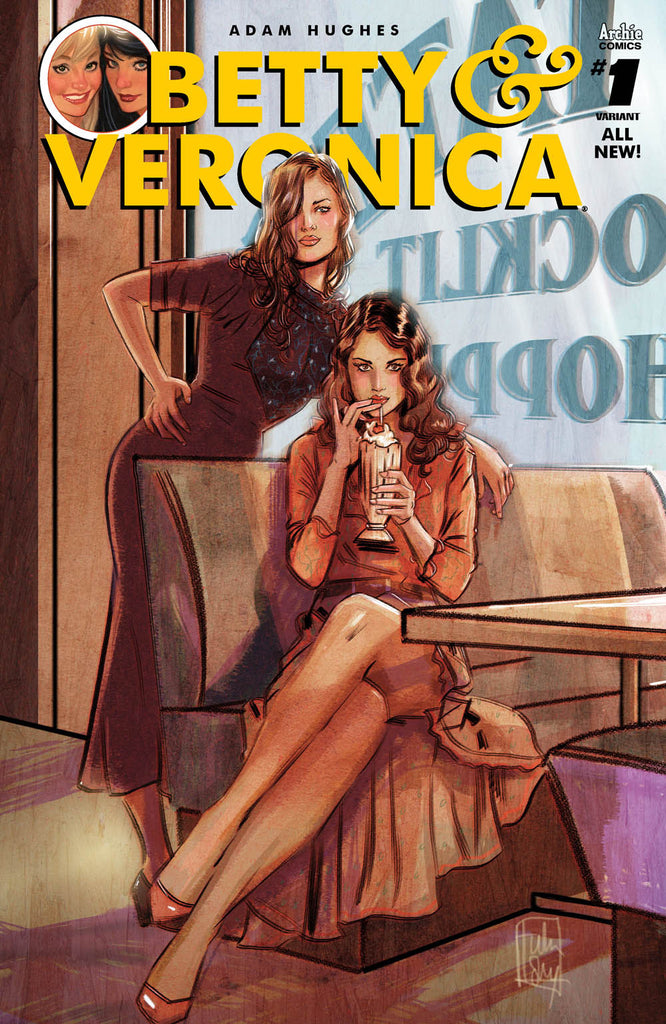 BETTY & VERONICA #1 CVR O VARTULA LOTAY COVER