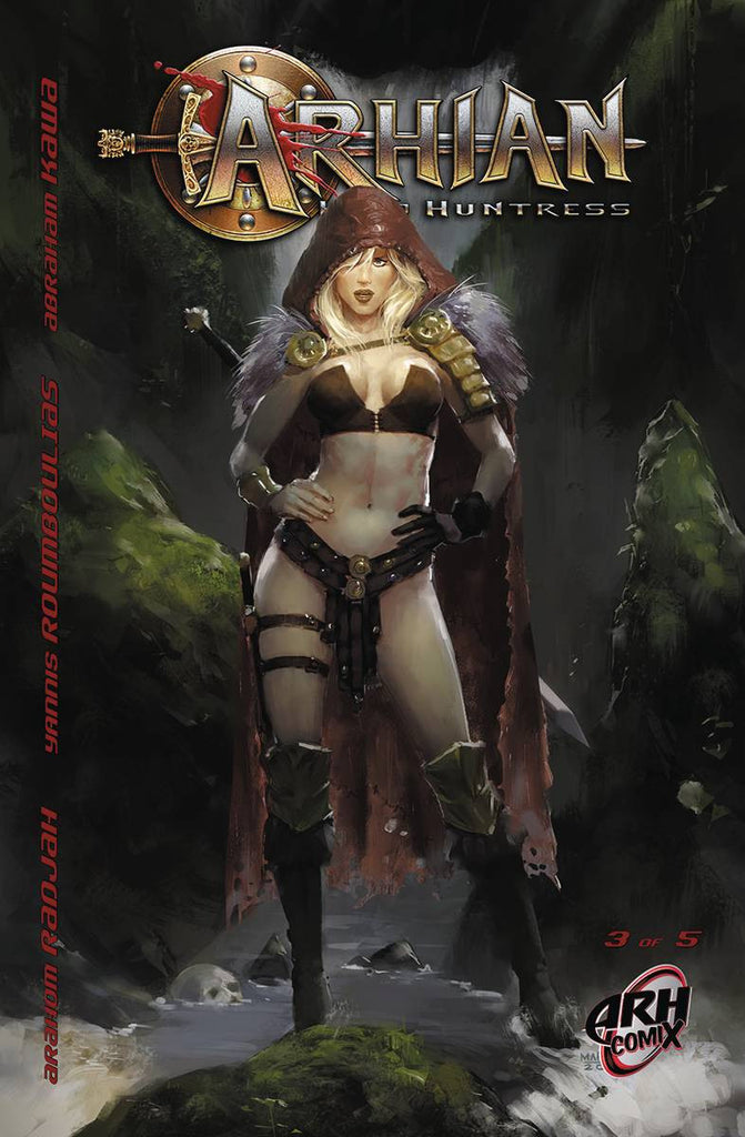 ARHIAN HEAD HUNTRESS #3 (OF 5) (MR) COVER