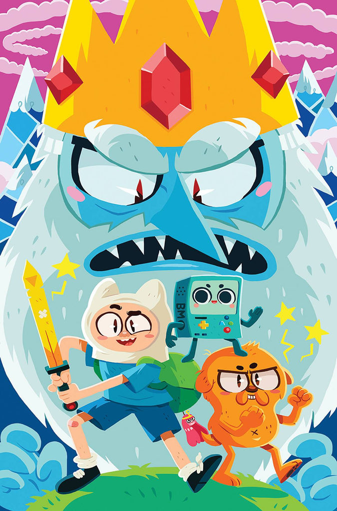ADVENTURE TIME COMICS #1 COVER