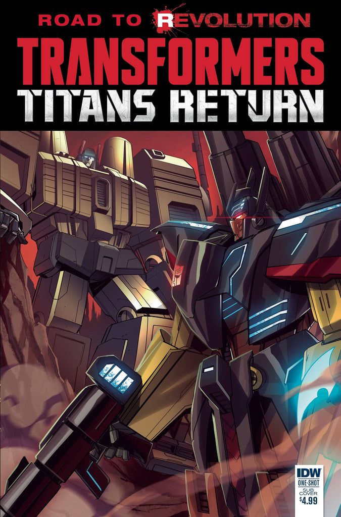TRANSFORMERS TITANS RETURN (ONE SHOT) SUB CVR COVER
