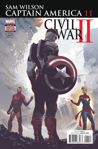 CAPTAIN AMERICA SAM WILSON #11 CW2 COVER