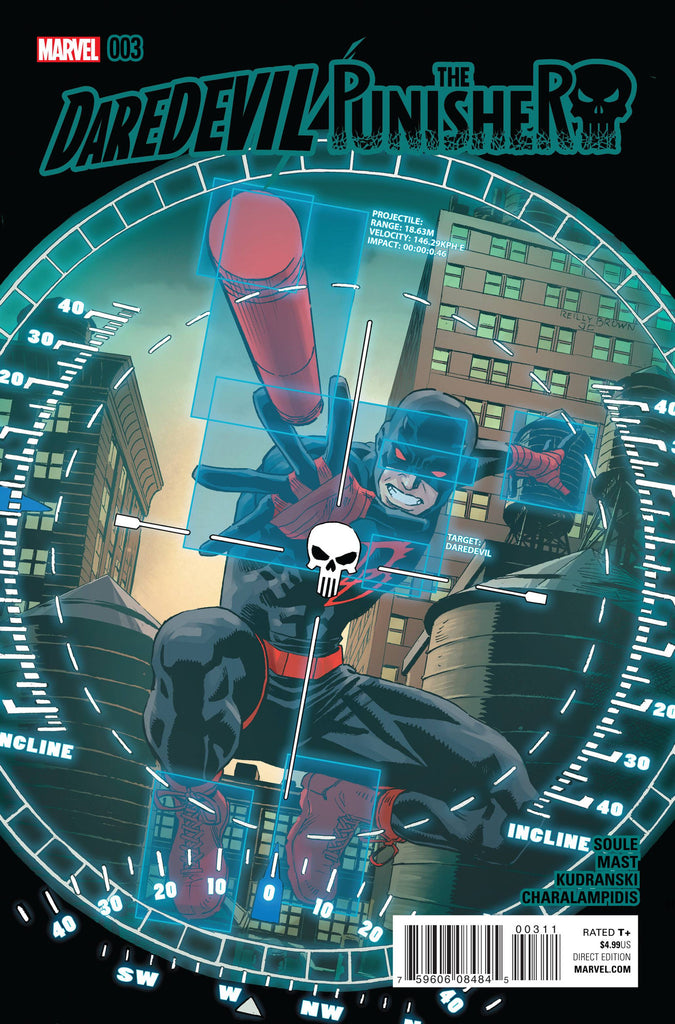 DAREDEVIL PUNISHER #3 (OF 4) COVER