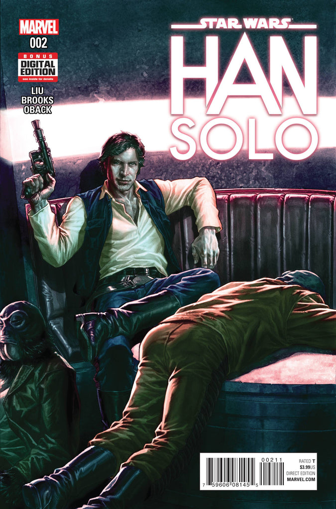 STAR WARS HAN SOLO #2 (OF 5) COVER