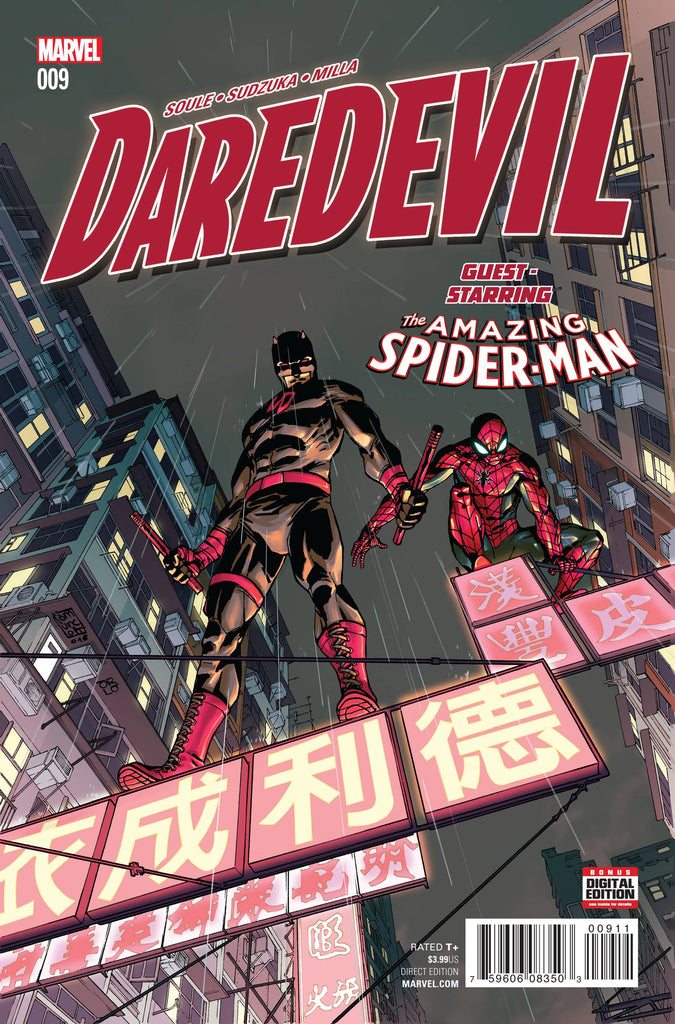 DAREDEVIL #9 COVER