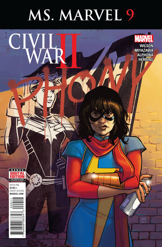 MS MARVEL #9 CW2 COVER