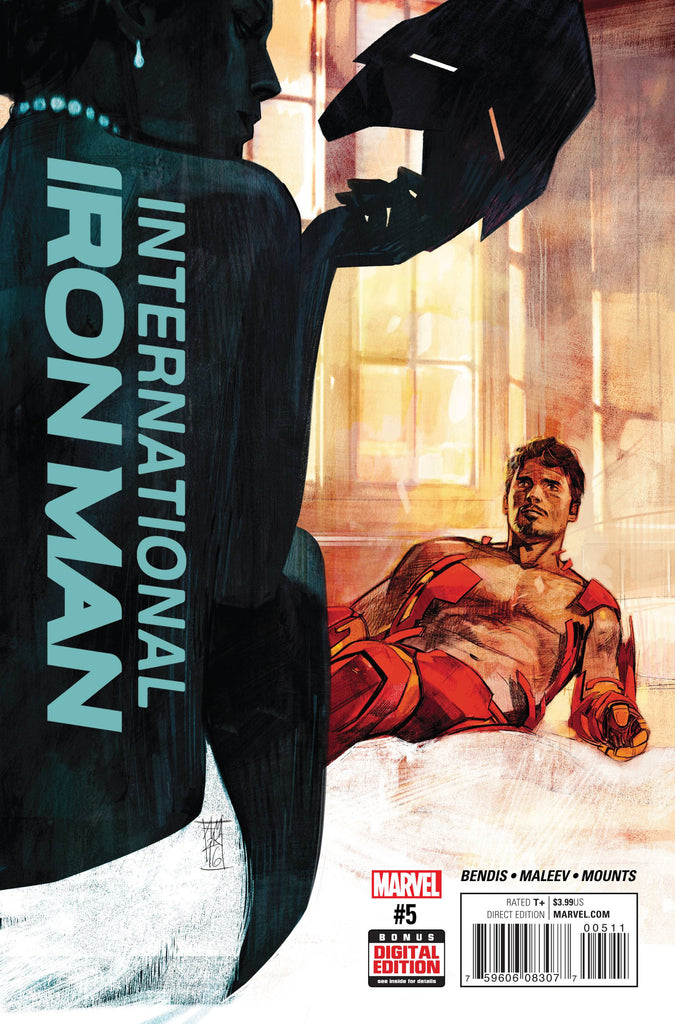 INTERNATIONAL IRON MAN #5 COVER