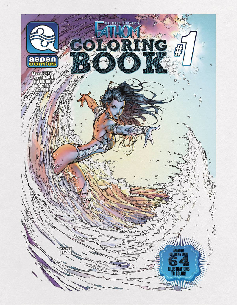 FATHOM COLORING BOOK TP COVER