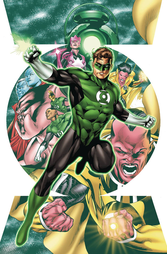 HAL JORDAN AND THE GREEN LANTERN CORPS #1 COVER