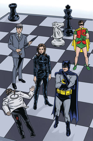 BATMAN 66 MEETS STEED AND MRSPEEL #1 (OF 6) COVER