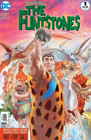 FLINTSTONES #1 COVER