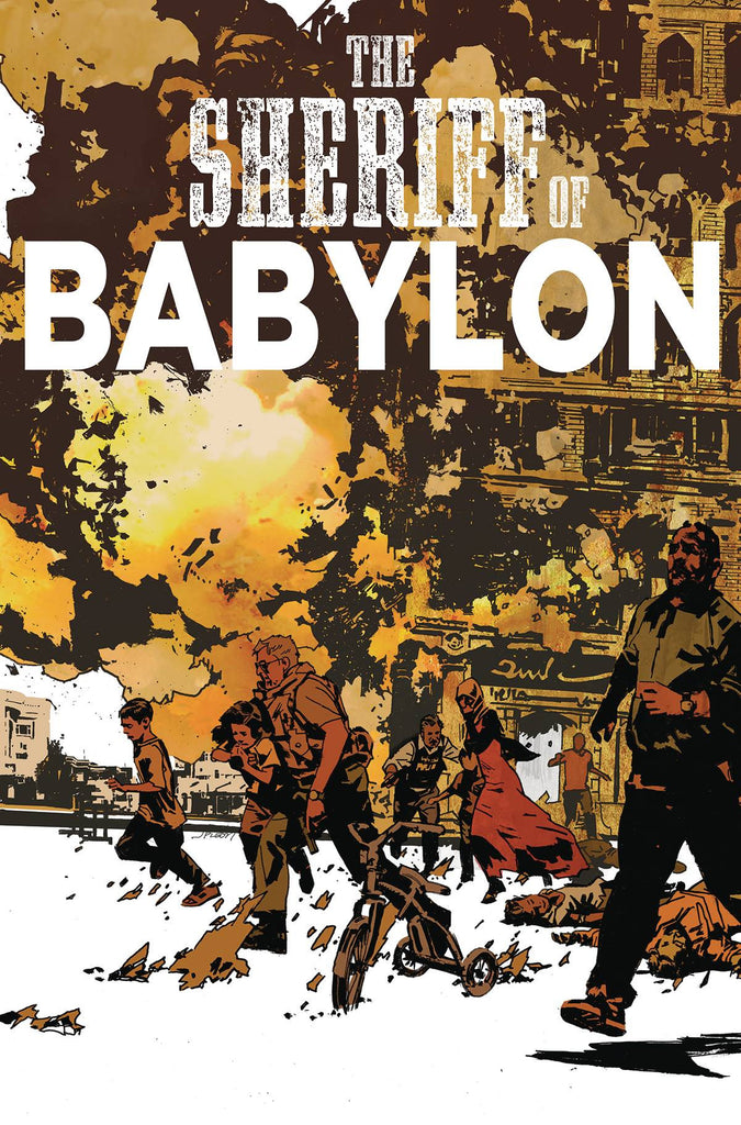 SHERIFF OF BABYLON #8 (OF 12)(MR) COVER