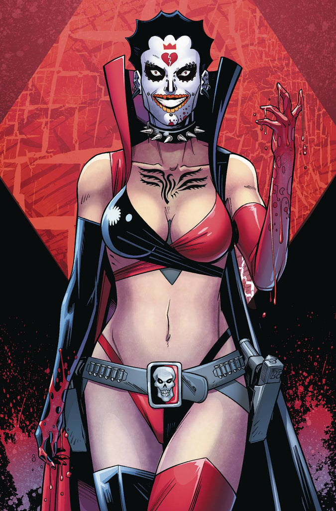 HARLEY QUINN AND HER GANG OF HARLEYS #4 (OF 6) COVER