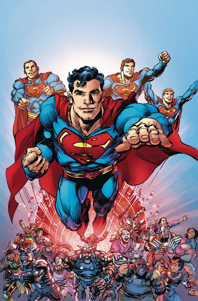 SUPERMAN THE COMING OF THE SUPERMEN #6 (OF 6) COVER