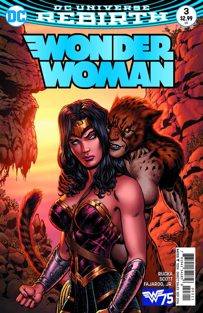 WONDER WOMAN #3 COVER