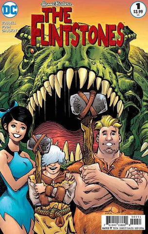 FLINTSTONES #1 BARNEY & BETTYVAR ED COVER