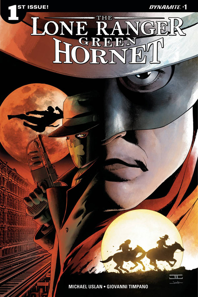 LONE RANGER GREEN HORNET #1 (OF 6) CVR A CASSADAY COVER