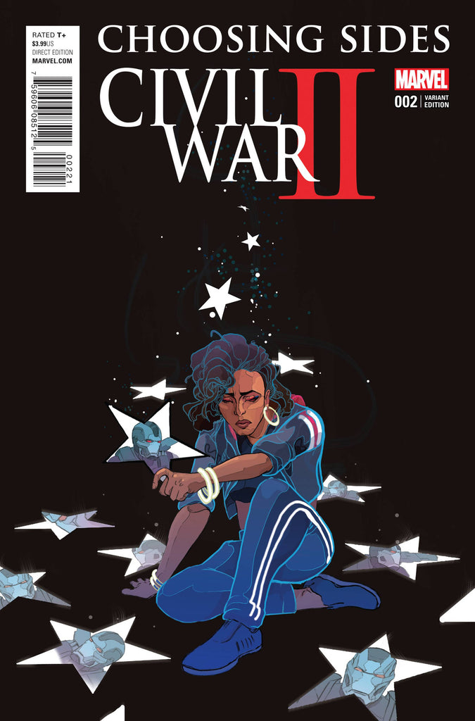 CIVIL WAR II CHOOSING SIDES #2 (OF 6) WARD VAR COVER
