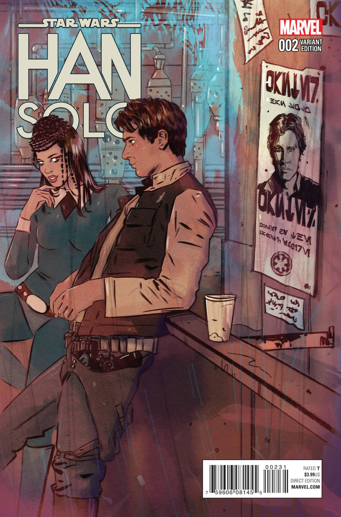 STAR WARS HAN SOLO #2 (OF 5) LOTAY VAR COVER