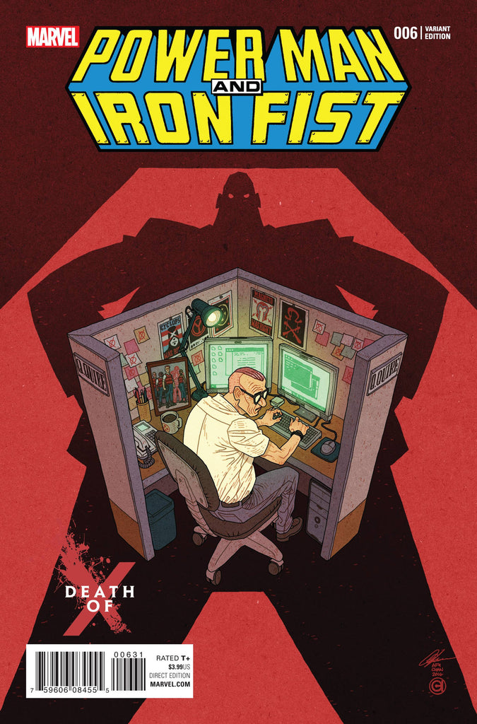 POWER MAN AND IRON FIST #6 CHAN DEATH OF X VAR CW2 COVER