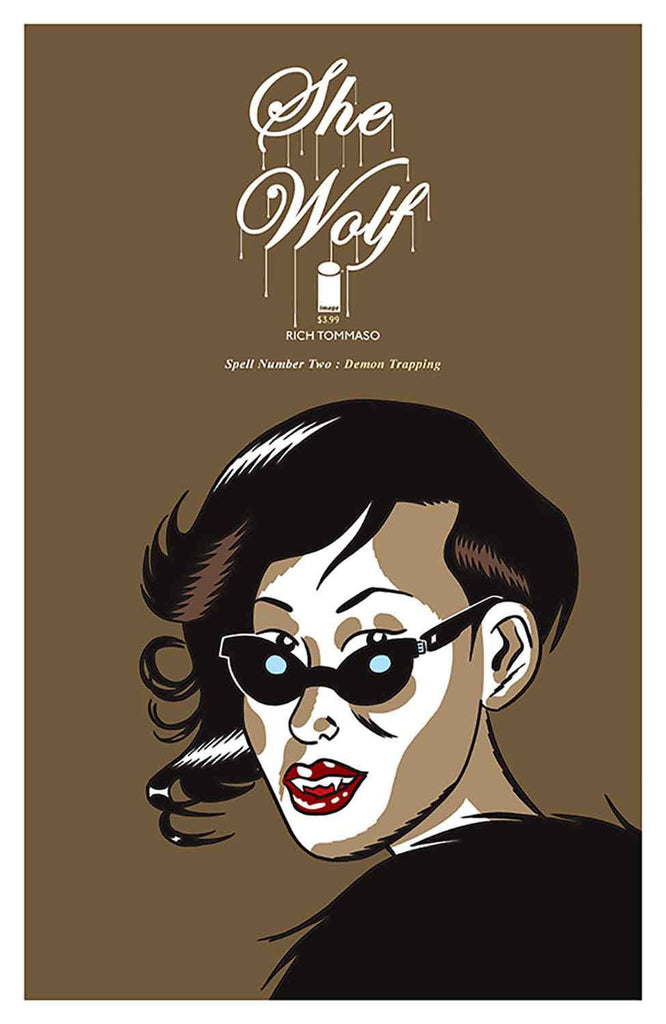SHE WOLF #2 (MR) COVER