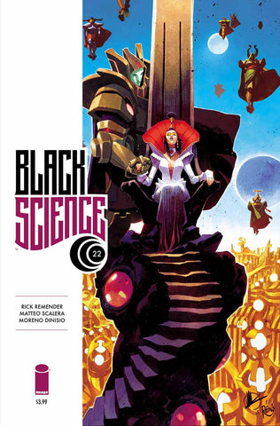 BLACK SCIENCE #22 (MR) COVER