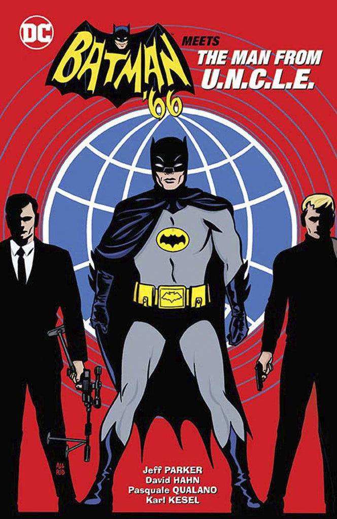 BATMAN 66 MEETS THE MAN FROM UNCLE HC COVER