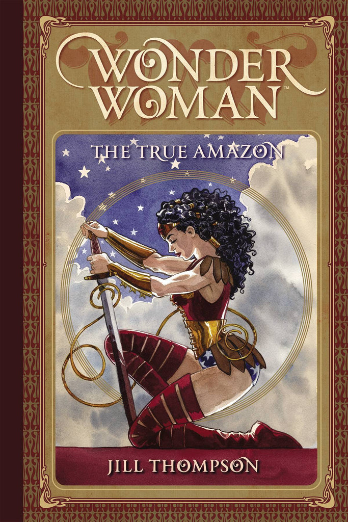 WONDER WOMAN THE TRUE AMAZON HC COVER