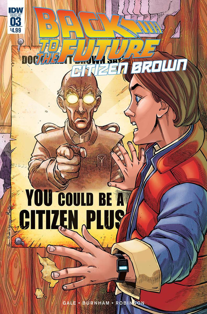 BACK TO THE FUTURE CITIZEN BROWN #3 (OF 5) COVER