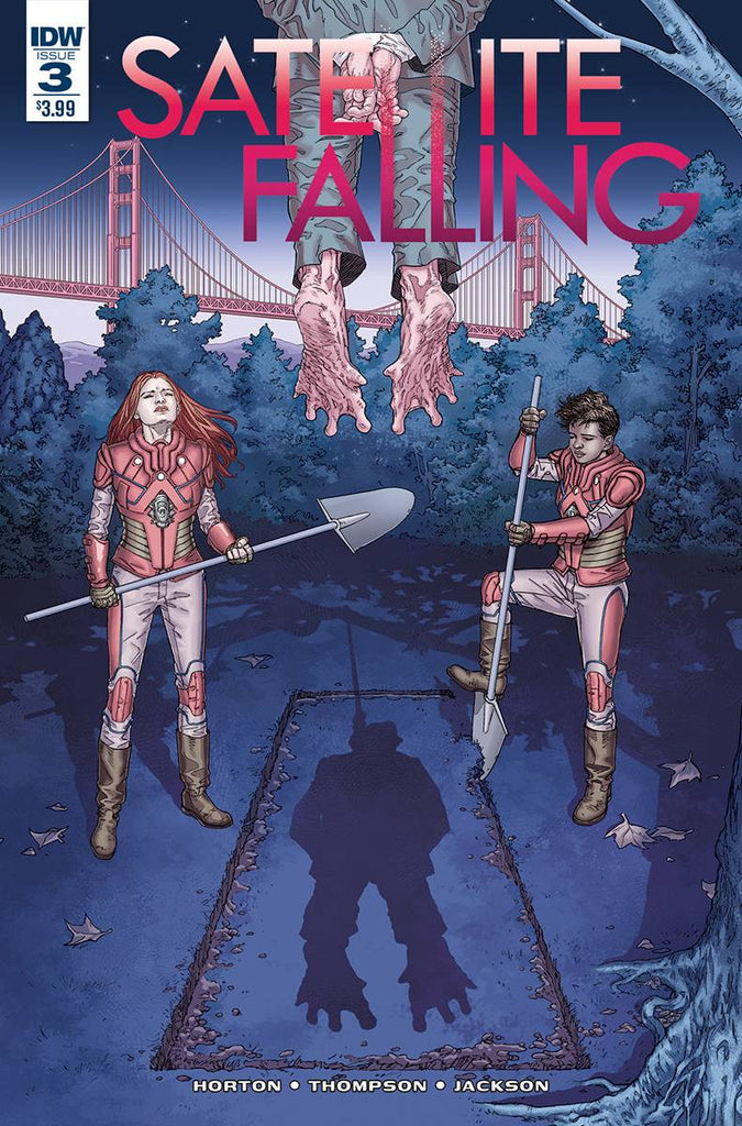 SATELLITE FALLING #3 COVER