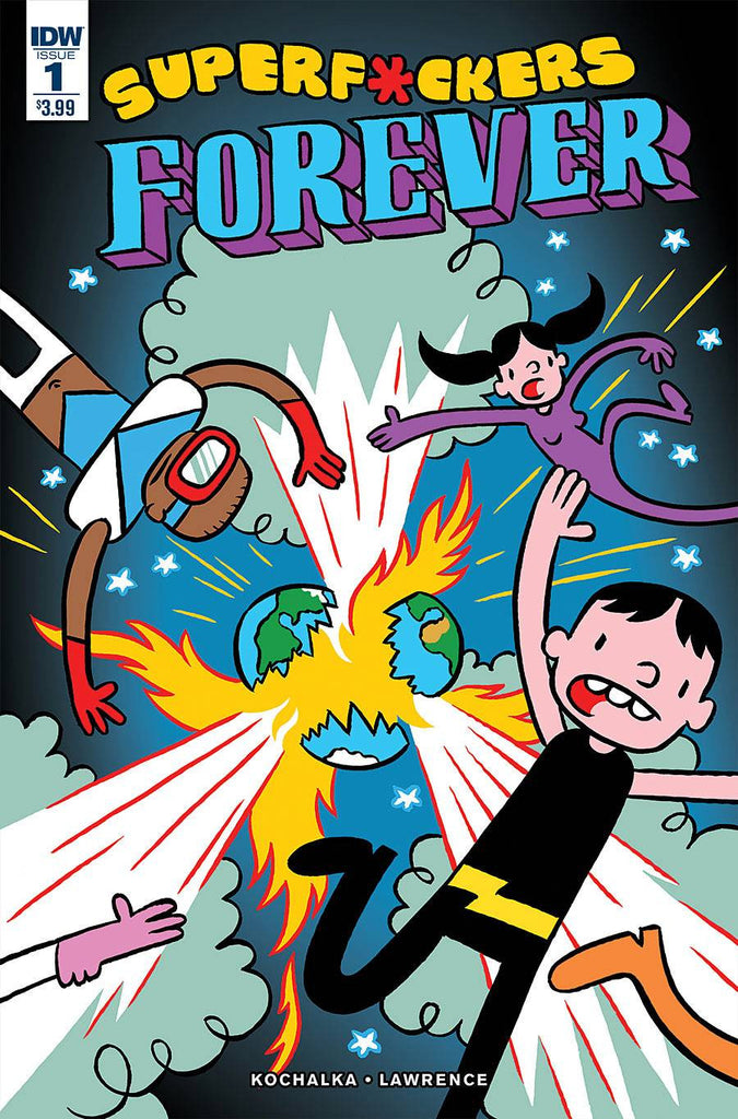 SUPER F*CKERS FOREVER #1 (OF 5) (MR) COVER
