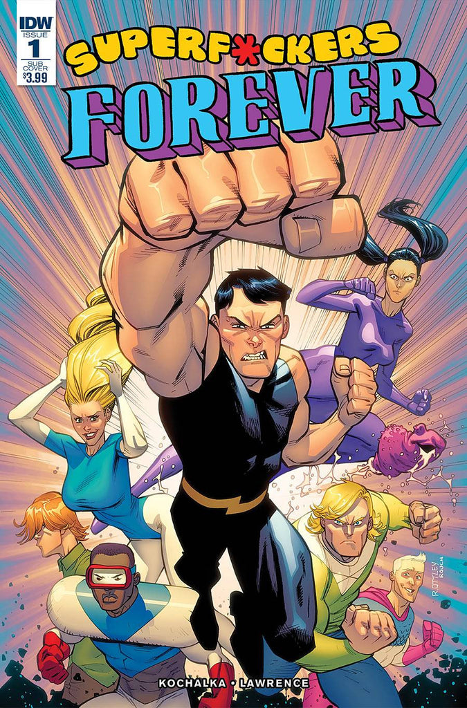 SUPER F*CKERS FOREVER #1 (OF 5) SUBSCRIPTION VAR (MR) COVER