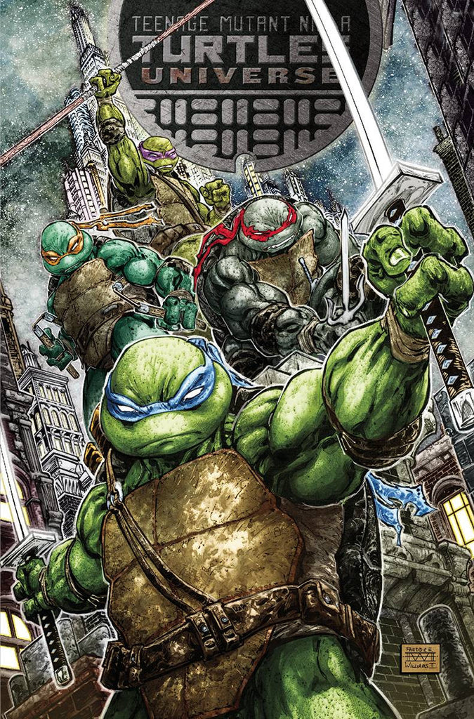 TMNT UNIVERSE #1 COVER