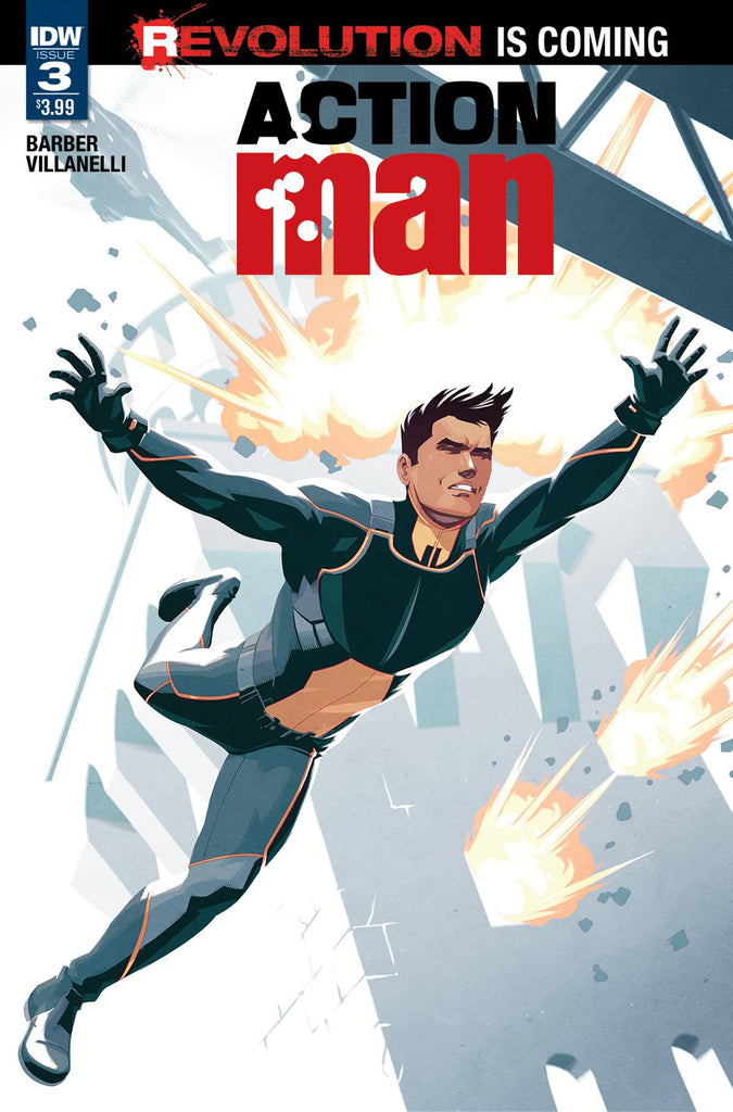 ACTION MAN #3 COVER