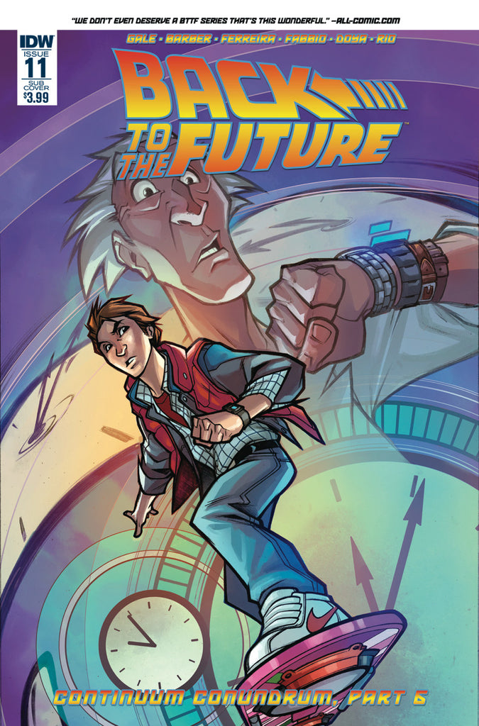 BACK TO THE FUTURE #11 SUBSCRIPTION VAR COVER