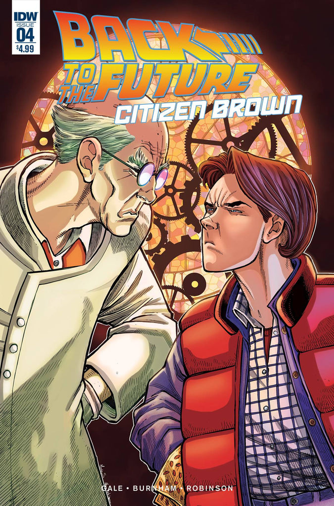 BACK TO THE FUTURE CITIZEN BROWN #4 (OF 5) COVER
