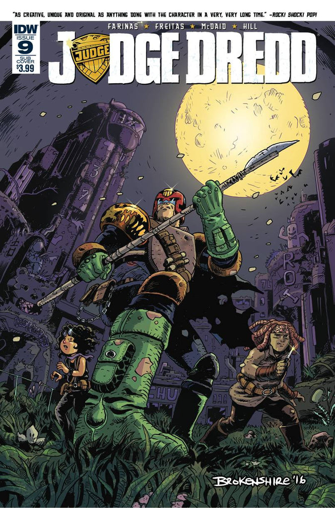 JUDGE DREDD (ONGOING) #9 SUBSCRIPTION VARIANT COVER