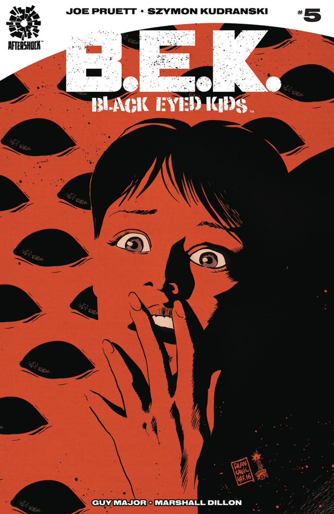 BLACK EYED KIDS #5 (MR) COVER