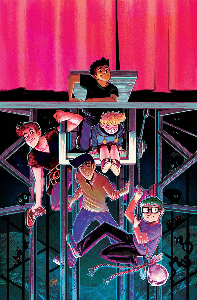 BACKSTAGERS #1 (OF 8) COVER