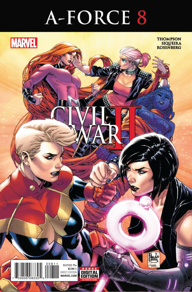 A-FORCE #8 CW2 COVER