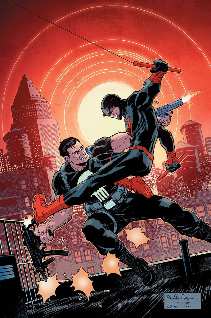 DAREDEVIL PUNISHER #4 (OF 4) COVER