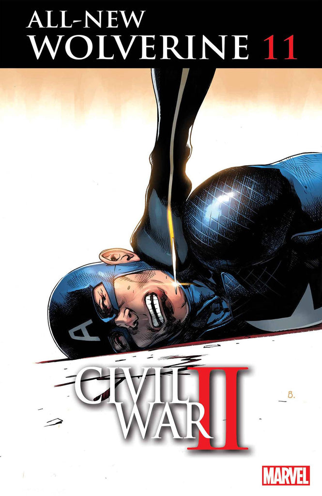 ALL NEW WOLVERINE #11 CW2 COVER