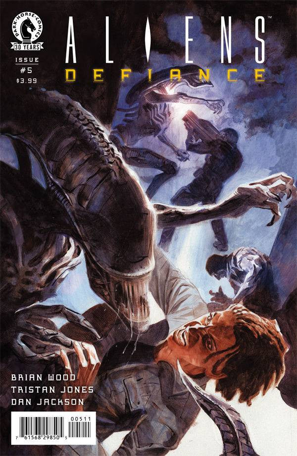 ALIENS DEFIANCE #5 COVER