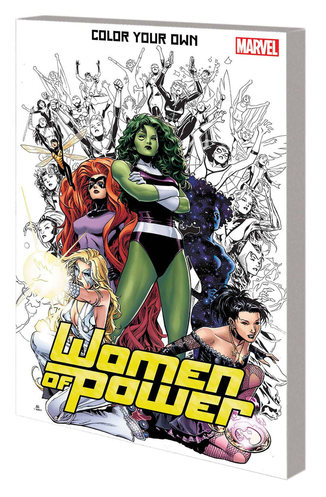 COLOUR YOUR OWN WOMEN OF POWER TP COVER