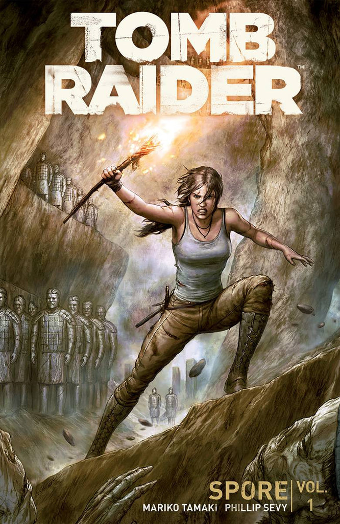 TOMB RAIDER 2016 TP VOL 01 SPORE COVER