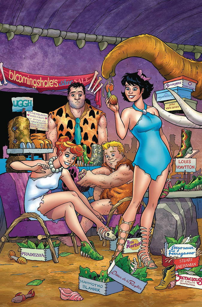 FLINTSTONES #2 COVER