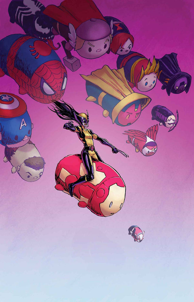 ALL NEW WOLVERINE #11 PARKER TSUM TSUM VAR CW2 COVER